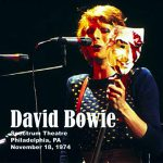 David Bowie 1974-11-18 Philadelphia ,Spectrum Theatre - Philadelphia 1974 - (source Dave Peters) - SQ 7+