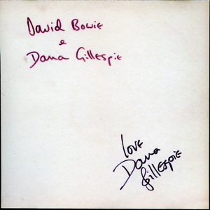 David Bowie and Dana Gillespie - Recorded at Trident Studios London 1971 - Bowpromo 1 - SQ -10