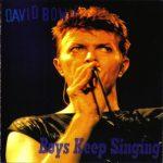 David Bowie 1995-11-26 Exeter ,Westpoint Arena - Boys Keep Singing - SQ 8,5