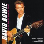 David Bowie 1990-09-08 Modena ,Festa Nationale di Modena - Can You Her My Voice Out There ? - SQ -8
