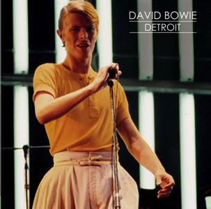 David Bowie 1978-04-21 Detroit ,Cobo Arena (Statsfax 1. gen) SQ 7,5