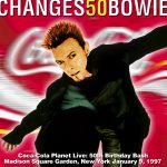 David Bowie 1997-01-09 New York ,Madison Square Gardens – Changes 50 Bowie – SQ 9