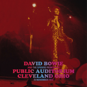 David Bowie 1972-11-25 Cleveland ,Public Auditorium (16RM) SQ 8+