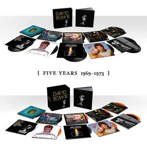 David Bowie Five Years 1969-1973 - CD/Vinyl box set (2015)