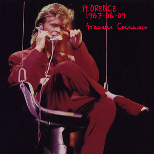 David Bowie 1987-06-09 Florence ,Stadio Cummunale - The Spider slipped & Fell - SQ 7,5