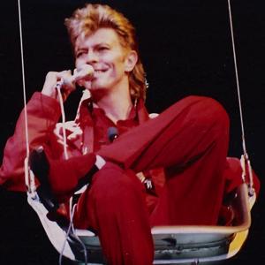 David Bowie 1987-06-27 Gothenburg ,Eriksberg Shipyard Docks - SQ -8