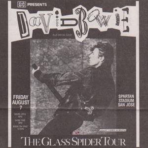 David Bowie 1987-08-07 San Jose ,Spartan Stadium - SQ -8