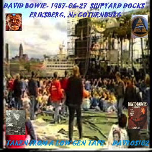 David Bowie 1987-06-27 Gothenburg ,Shipyard Docks - SQ 7,5