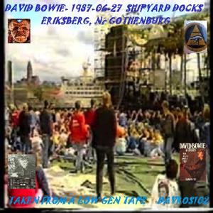 David Bowie 1987-06-27 Gothenburg ,Shipyard Docks - SQ 7,5