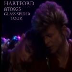 David Bowie 1987-09-25 Hartford ,Civic Centre – Hartford 870925 – SQ 7,5