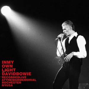 David Bowie 1976-03-20 Rochester ,War Memorial Auditorium - In My Own Light - SQ 7+
