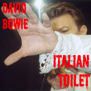 David Bowie 1990-04-17 Rome ,Palaurer - Italian Toilet - (Matrix SBD) - SQ 8,5