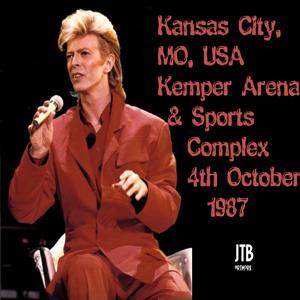 David Bowie 1987-10-04 Kansas ,Kemper Arena SQ 8