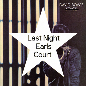 David Bowie 1978-07-01 London ,Earl's Court Arena - Last Night Earls Court - (Soundboard - Vinyl) - SQ -9