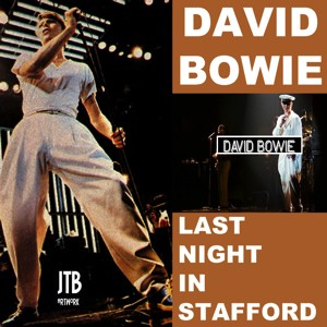 David Bowie 1978-06-26 Stafford ,Bingley Hall - Last Night In Stafford - SG 6