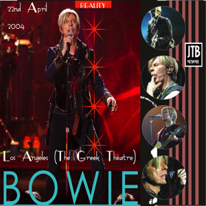 David Bowie 2004-04-22 Los Angeles ,Greek Theatre - Let's Stap One On - SQ 8,5