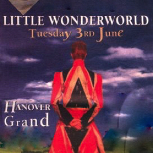 David Bowie 1997-06-03 London ,Hanover Grand (TRY-OUT Concert) (DAT Master) – Little Wonderworld – SQ 8+
