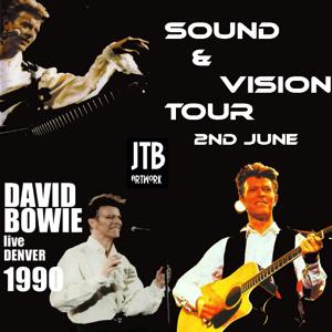 David Bowie 1990-06-02 Denver ,McNichols Arena Denver - Live In Denver - SQ 8+