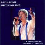 David Bowie 2002-06-29 London ,Royal Festival Hall ,Meltdown Festival – Meltdown 2002 – SQ -9