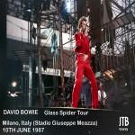 David Bowie 1987-06-10 Milano , Stadio Di San Siro - Milano '87 - SQ 8