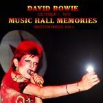 David Bowie 1972-10-01 Boston ,Music Hall – Music Hall Memories – (Joe Maloney Master) – SQ 8+