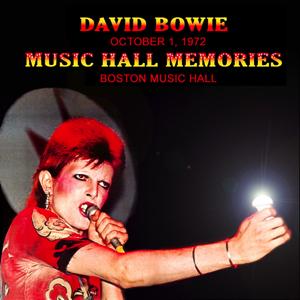 David Bowie 1972-10-01 Boston ,Music Hall - Music Hall Memories - (Joe Maloney Master) - SQ 8+
