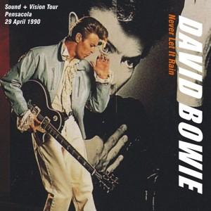 David Bowie 1990-04-29 Pensacola ,Civic Center - Never Let It Rain - SQ 8,5