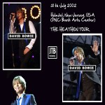 David Bowie 2002-07-31 Holmdel ,New Jersey ,PNC Bank Arts Center – New Jersey 2002-07-31 – SQ 8,5