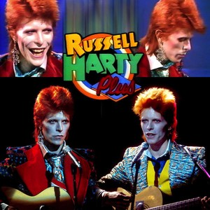 David Bowie 1973-01-17 London ,L.W.T South Bank Studios - Bowie on Russell Harty Plus (recorded 1973-01-05) - SQ 8,5