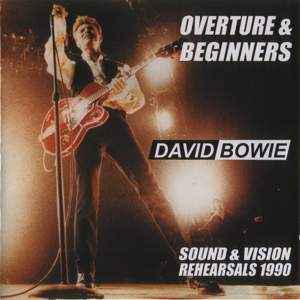 David Bowie 1990-02-00 New York ,Sound & Vision Rehearsals - Overture & Beginners - (SBD) - SQ 8+