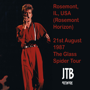 David Bowie 1987-08-21 Chicago , Rosemont Horizon - SQ 7,5