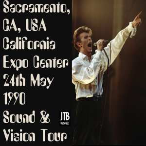 David Bowie 1990-05-24 California ,Expo Sacramento SQ -8