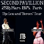 David Bowie 1978-05-25 Paris ,Pavillon de Paris - Second Pavillion - (low gen, remastered) - SQ 7,5