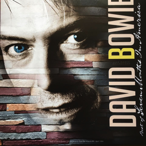 David Bowie Best Of Seven Months In America - Atlanta ,Smith's Old Bar & The GQ Men Of The Year Award (Vinyl ) - SQ 9,5