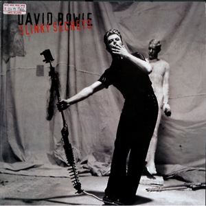 David Bowie 1995-11-08/12 Borehamwood ,Elstree Studios - Slinky Secrets (Outside Tour Rehearsals) (vinyl) - SQ -9