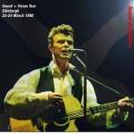 David Bowie 1990-03-23 +24 Edinburgh ,Royal Highland Exhibition Centre - Sound And Saltire - SQ -9