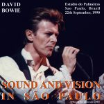 David Bowie 1990-09-22 Sao Paulo Estadio Do Palmeiras - Sound and Vision in Sao Paulo - SQ 8,5