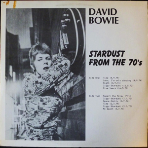 David Bowie Stardust from the 70's -Live recordings, outtakes and sessions SQ 5,5
