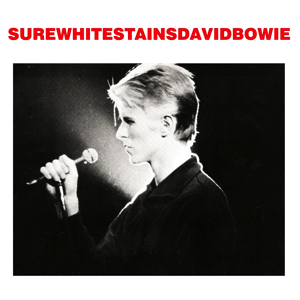 David Bowie 1976-05-18 Paris ,Pavillion de Paris (Diedrich) - Sure White Stains - SQ 7,5