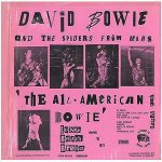 David-Bowie 1973-03-10 Long Beach ,Arena - The All American Bowie - (Vinyl) - SQ 7+