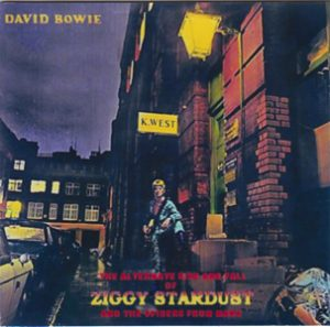 David Bowie The Alternate Ziggy Stardust (Studio outtakes ,BBC Sessions ,Alternate mixes) - SQ -9