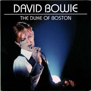 David Bowie 1976-03-17 Boston ,New Boston Garden Arena - The Duke Of Boston - SQ -8