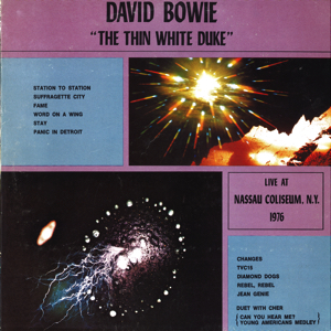 David Bowie 1976-03-23 New York ,Nassau Coliseum - The Thin White Duke (version 1) - SQ -9