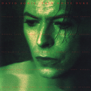 David Bowie Thin White Duke Live (Recorded in the USA between 1972 and 1990) - SQ -8 -9