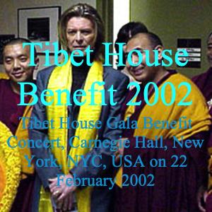 David Bowie 2002-02-22 New York ,Carnegie Hall - Tibet House Benefit - SQ -9