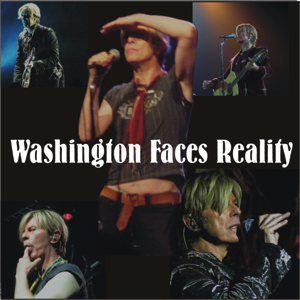 David Bowie 2004-05-16 Fairfax ,Washington ,The Patriot Centre - Washington Face Reality - SQ 8+