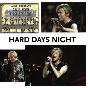David Bowie 2004-05-11 St.Louis ,Fox Theatre - Hard Days Night - SQ 7,5