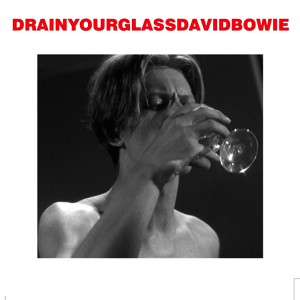 David Bowie 1976-04-29 Copenhagen ,Falkoner Teatret - Drain Your glass - SQ 7