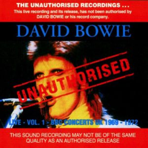 David Bowie Live Vol.1 - BBC Concerts U.K. 1969-1972 - SQ -9