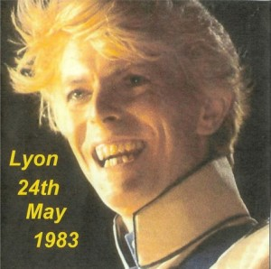 David Bowie 1983-05-24 Lyon ,Palais des Sports (blackout) - SQ 7+